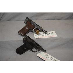 Lot of Two 12 - 6 Prohib Firearms : Webley & Scott Model 1908 7.65 MM Cal 8 Shot Semi Auto Pistol w/