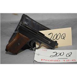 Prohib 12 - 6 Mauser Model 1910 6.35 MM Cal 9 Shot Semi Auto Pistol w/ 76 mm bbl [ blued finish star