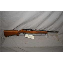"Ruger model 10/22 mag fed semi-automatic .22 LR cal. rifle w/18 1/2"" bbl. [ blued barrel and receive"