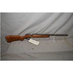 "Cooey model 39 single shot bolt action .22 S., L, & LR cal rifle w/ 22"" bbl.[ blued finish turning g"