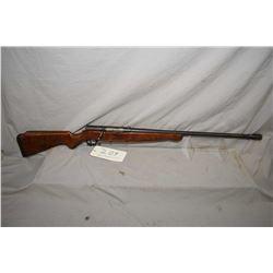 Mossberg & Sons model 185 KB mag fed, bolt action 20 gauge shotgun w/ 26  bbl. [blued finish turning