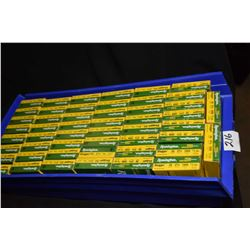 "Blue Plastic Tray : Fifty Boxes ( 5 rnds per ) Rem Slugger .20 Ga 2 3/4"" Hollow Point Rifle Slugs Re"