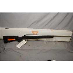 """Tikka T-3, left hand 30/06 mag fed bolt action rifle w/ 22"""" bbl. [stainless steel barrel and synthet"""