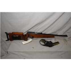 "Izhmash model Biathlon-7-2-KO, .22 LR mag fed bolt action rifle w/19 3/4"" bbl. [Target stock with ad"