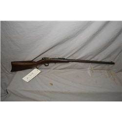 """Savage 1905 single shot .22 S,L, & L.R rifle w/22"""" bbl. [appears to be refinished stock, metal butt"""