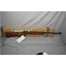 "Norinco W-52, .22 LR cal. 5 shot mag fed bolt action rifle w/ 24"" bbl. [high gloss wooden stock, che"