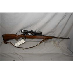 "Midland Sporter, 30/06mag fed bolt action rifle w/24""bbl. [ blued finish with fixed front and rear i"