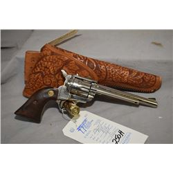 Restricted - Reck Model R 12 .22 LR Cal 6 Shot Revolver w/ 152 mm bbl [ nickel finish, wooden grips