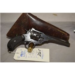 Restricted - Webley Model Mark IV .455 Rev Cal 6 Shot Revolver w/ 152 mm bbl [ fading blue finish, w
