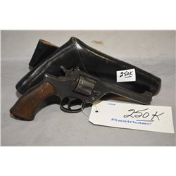 Restricted - Enfield ( Dated 1937 ) Model No. 2 Mark 1 .38 S & W Cal 6 Shot Revolver w/ 127 mm bbl [