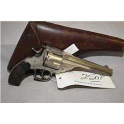 Restricted - Unknown Belgian Model Smith & Wesson 44 Double Action Frontier Copy .44 - 40 Win Cal 6