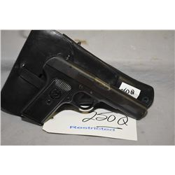 Restricted - Tokarev Model TT 48 ? 7.62 MM Tokarev Cal 8 Shot Semi Auto Pistol w/ 115 mm bbl [ blued