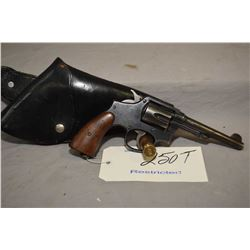 Restricted - Smith & Wesson 38 Hand Ejector Military & Police Model 1905 4 Th Change .38 S & W Cal 6