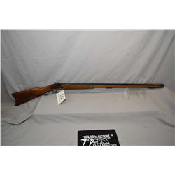 "Unknown Italian Model Plains Style .45 Perc Cal Full Wood Black Powder Rifle w/ 35"" octagon bbl [ bl"