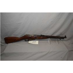 Mosin - Nagant Model 1944 Dated 1945 7.62 x 54 R Cal Bolt Action Full Wood Military Carbine w/ 20 1/