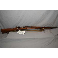 Swedish Mauser ( Carl Gustaf ) Model 1896 Dated 1915 6.5 x 55 Swedish Mauser Cal Full Wood Military