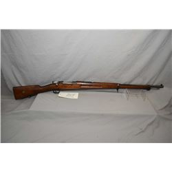 Swedish Mauser ( Carl Gustaf ) Model 1896 Dated 1912 6.5 x 55 Swedish Mauser Cal Full Wood Military