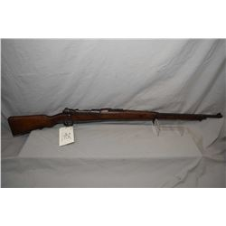 "German Mauser Model 1907 .7 MM Mauser Cal Full Wood Military Bolt Action Rifle w / 29 1/2"" bbl [ fad"