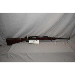 Krag Jorgensen ( Springfield Armoury ) Model 1898 .30 - 40 Krag Cal ? Sporterized Military Bolt Acti