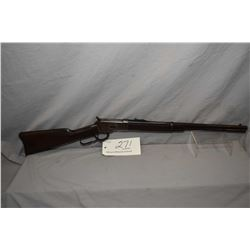 "Winchester Model 1892 .25 - 20 WCF Cal Lever Action Rifle w/ 20"" bbl [ fading blue turning brown, ba"