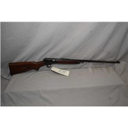 "Winchester Model 63 .22 LR Cal Tube Fed Semi Auto Rifle w/ 23"" bbl [ blued finish starting to fade,"