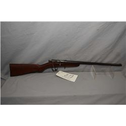 "Cooey Model Canuck .25 Rimfire Cal Single Shot Bolt Action Rifle w/ 18"" bbl [ blued finish turning b"