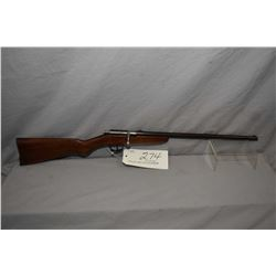 "Cooey Model Ace 1 .22 LR Cal Single Shot Rifle w/ 17"" bbl [ blued finish turning brown, barrel sight"