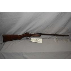 "Eatonia Model Single Shot .25 Rimfire Cal Single Shot Rifle w/ 20"" bbl [ blued finish fading and tur"