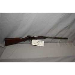 "Savage Model 1904 .22 LR Cal Single Shot Bolt Action Rifle w/ 18"" bbl [ faded blue finish turning br"