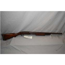 "Remington Model 10 .12 Ga Bottom Eject Take Down Pump Action Shotgun w/ 26"" bbl [ fading blue finish"