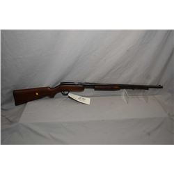"Noble Model 33 A .22 LR Cal Tube Fed Pump Action Rifle w/ 24"" bbl [ fading blue finish with some lig"