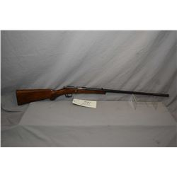 Anschutz Model JGA Zella .22 LR Cal Single Shot Bolt Action Rifle w/ 23 1/4  bbl [ fading blue finis
