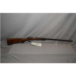 "Anschutz Model JGA Zella .22 LR Cal Single Shot Bolt Action Rifle w/ 23 1/4"" bbl [ fading blue finis"