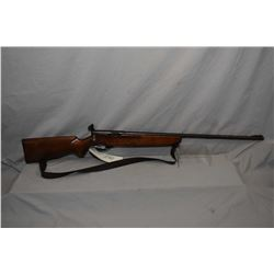 "Mossberg Mod No. 26 B .22 LR Cal Single Shot Bolt Action Rifle w/ 26"" bbl [ blued finish with some l"