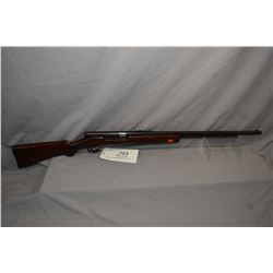 "Savage Model 6 A .22 LR Cal Tube Fed Semi Auto / Bolt Action Rifle w/ 24"" bbl [ fading blue finish t"