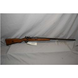 "Mauser Model Geha .12 Ga Bolt Action Shotgun w/ 27"" bbl [ fading blue finish turning brown, rounded"