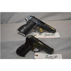 Lot of Two Prohib 12 - 6 Handguns : CZ Model 27 7.65 MM Cal 8 Shot Semi Auto Pistol w/ 89 mm bbl [ b