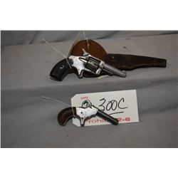 Lot of Two Prohib 12 - 6 Handguns : Bacon Model Express .22 Rimfire Cal 7 Shot Spur Trigger Revolver