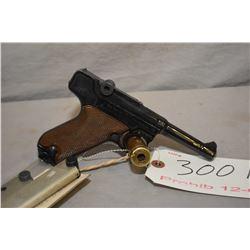 Prohibited 12-6 ERMA KGP 68, 7.65mm/.32 cal., 6 shot semi-automatic pistol w/ 83mm bbl. [ blued fini