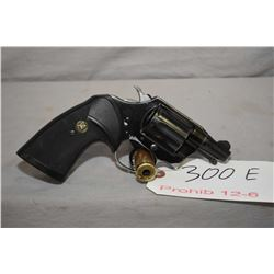 Prohibited 12-6 Colt Cobra (light weight) .38 SPL. 6 shot double action revolver, w/ 51mm bbl. [blue