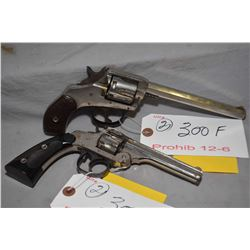 Prohib 12 - 6 - Lot of Two Handguns - Harrington & Richardson Model Premier .22 LR Cal 7 Shot Revolv