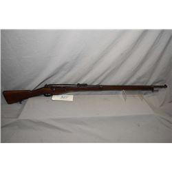 Mannlicher - Berthier ( St. Etienne ) Model 1907 / 15 Rifle .8 x 50 R Lebel Cal Bolt Action Full Woo