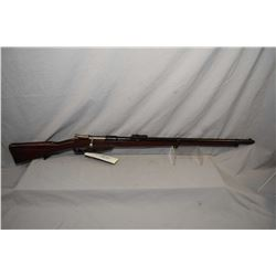 Mauser ( Loewe Berlin ) Model 1891 Argentine Rifle . 308 Win Cal ? Bolt Action Full Wood Military Ri
