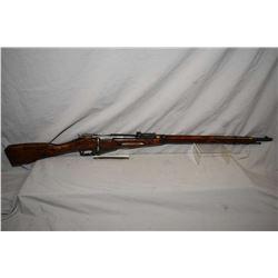 "Mosin - Nagant Model 1891 / 30 ? 7.62 x 54 R Cal Full Wood Military Bolt Action Rifle w/ 29"" bbl [ f"