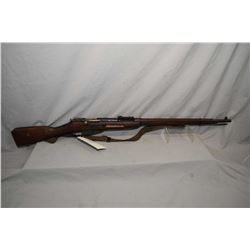 "Mosin - Nagant Model 1891 / 30 ? 7.62 x 54 R Cal Full Wood Military Bolt Action Rifle w/ 29"" bbl [ b"