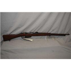 Mannlicher - Carcano ( FAT 42 ) Model 1891 ? Rifle 6.5 x 52 Italian Cal Full Wood Military Rifle w/