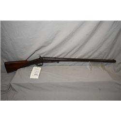 """W. Richards Model Cape Gun .44 Center Fire / .12 Ga Side By Side Combination Gun w/ 30"""" bbls [ fadin"""