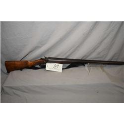 """Unknown Belgian Model Side by Side Hammer .12 Ga 2 3/4"""" Break Action Shotgun w/ 30"""" bbls [ fading bl"""
