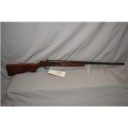 "Cooey Model 84 .28 Ga Single Shot Break Action Shotgun w/ 28"" bbl [ blued finish turning brown, trac"