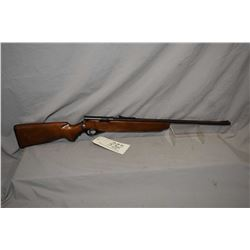 "Mossberg Model S26C .22 LR Cal Single Shot Bolt Action Rifle w/ 22 3/4"" bbl [ patchy faded blue fini"